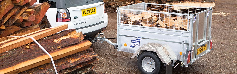 Q range - compact, robust trailers for agricultural and domestic users